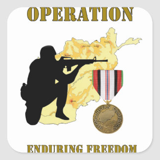 Operation Enduring Freedom Afghanistan War Sticker