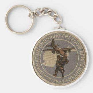 Operation Enduring Freedom Keychain