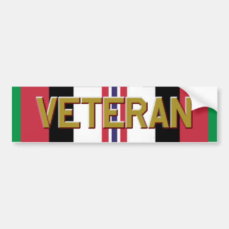 Operation Enduring Freedom Veteran Bumper Sticker