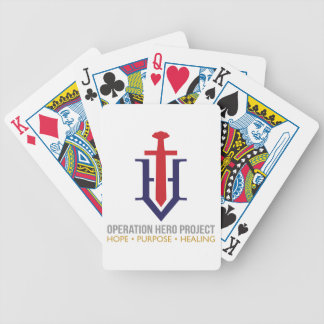 Operation Hero Project Bicycle Playing Cards