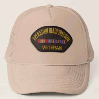 OPERATION IRAQ FREEDOM TRUCKER HAT