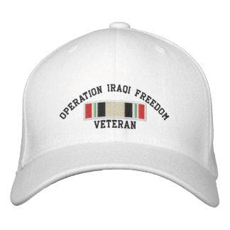 Operation Iraqi Freedom Veteran Embroidered Hat