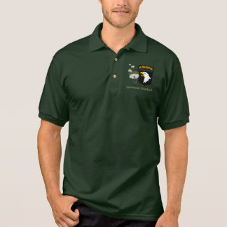 Operation Overlord WWII [101st Abn] Polo Shirt
