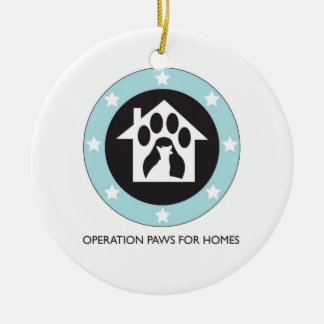 Operation Paws for Homes Dog Rescue - Ornament