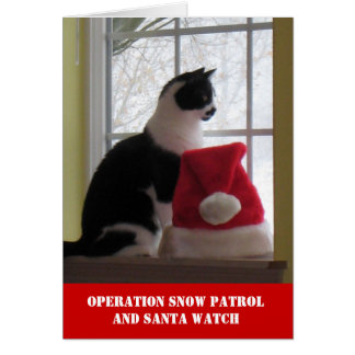 Operation Snow Patrol Christmas Card