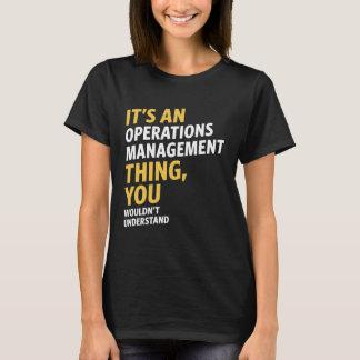 Operations Management T-Shirt