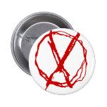Operator Symbol Pinback Buttons