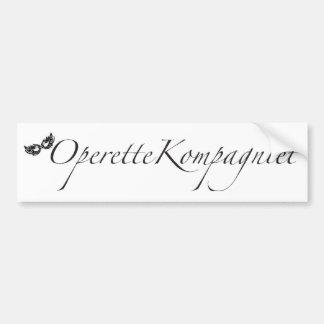 OperetteKompagniet Denmark Bumper Sticker