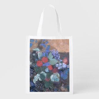 Ophelia among the Flowers, c.1905-8 Reusable Grocery Bag