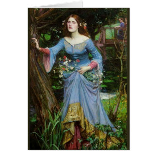 Ophelia by Waterhouse Card