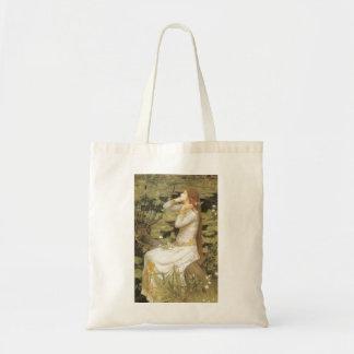 Ophelia by Waterhouse, Tote Bag