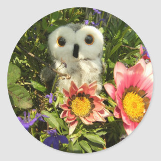 Ophelia In The Hills Classic Round Sticker