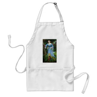 OPHELIA in the woods (insert your own image) Standard Apron