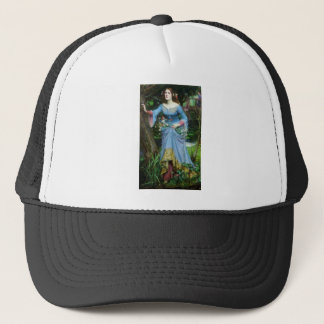 OPHELIA in the woods (insert your own image) Trucker Hat