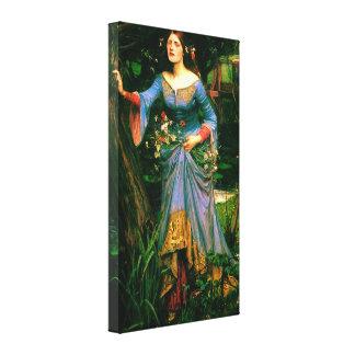 Ophelia ~ John William Waterhouse Canvas Print