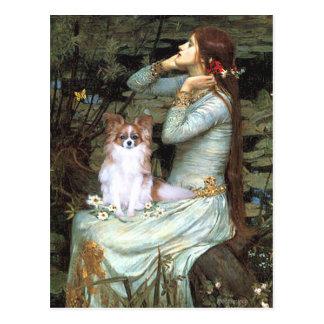 Ophelia - Papillon 6 Postcard