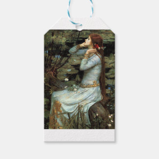Ophelia seated - add your pet gift tags