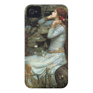 Ophelia seated - add your pet iPhone 4 case