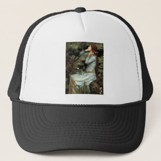 Ophelia seated - add your pet trucker hat