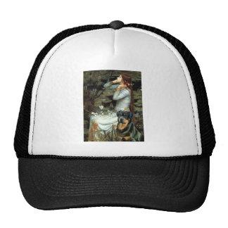 Ophelia Seated - Rottweiler #3 Trucker Hat