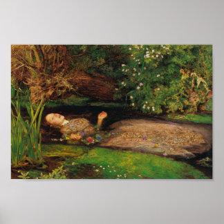 Ophelia - Sir John Everett Millais Poster