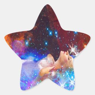 Ophelia Star Sticker