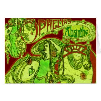 Ophelia's Absinthe Card