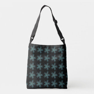 Ophiodea in Turquoise and Black Crossbody Bag