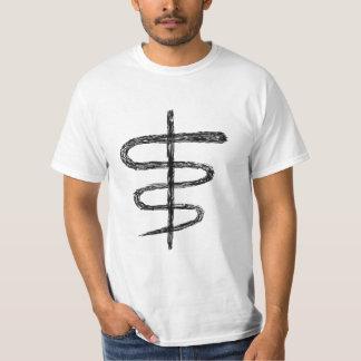 Ophiuchus. Astrological Zodiac Sign. Black. T-Shirt