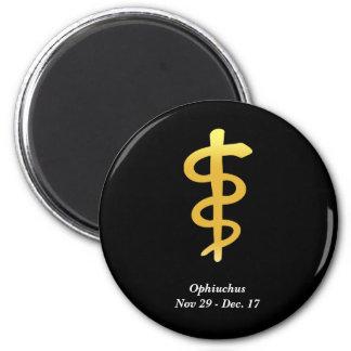 Ophiuchus (Nov. 29 - Dec. 17) 2 Inch Round Magnet