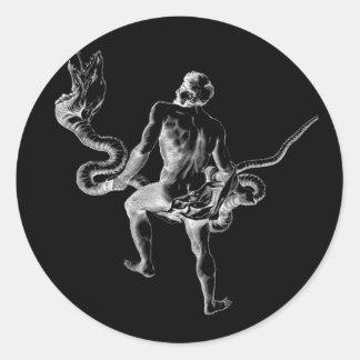 Ophiuchus Round Sticker