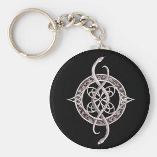 Ophiuchus Symbol Basic Round Button Keychain
