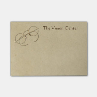 Ophthalmologist, Optometrist or Optician Practice Post-it Notes