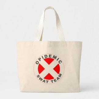 Opidemic SWAT Team Large Tote Bag