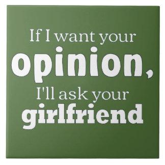 Opinion ask girlfriend wf ceramic tiles