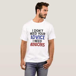 Opinion Minion Funny Tshirt