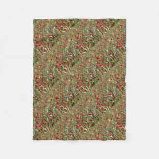 Opium Of The Masses Fleece Blanket