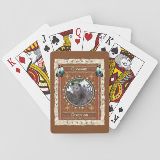 Opossum  -Diversion- Classic Playing Cards