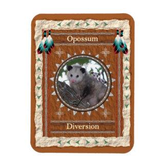 Opossum  -Diversion- Vinyl Flexi Magnet