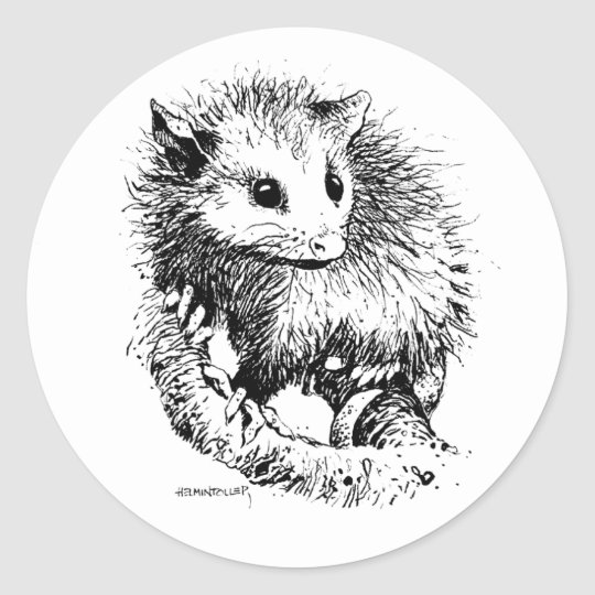Opossum Stickers