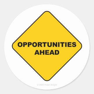 Opportunities Ahead - Sticker