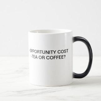OPPORTUNITY COST - TEA OR COFFEE? MAGIC MUG