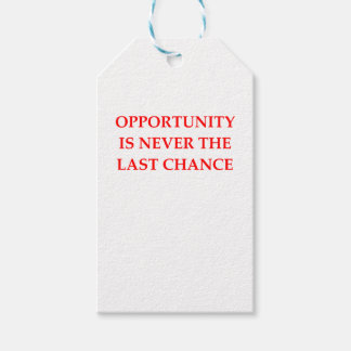 OPPORTUNITY GIFT TAGS