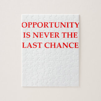 OPPORTUNITY JIGSAW PUZZLE