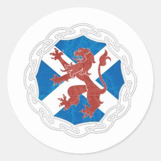 Opportunity Scotland 2011 Round Sticker