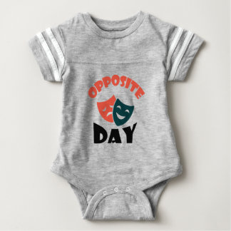 Opposite Day - Appreciation Day Baby Bodysuit
