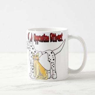 Opposites Attract Classic White Coffee Mug