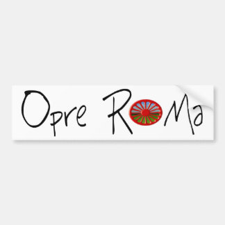 Opra Roma (Bumper Sticker) Bumper Sticker