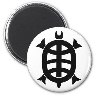 Optical 琳 turtle magnet