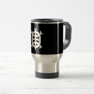 Optical 琳 turtle travel mug